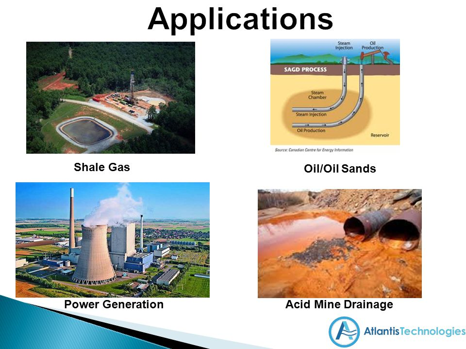 Applications Shale Gas Oil/Oil Sands Power Generation