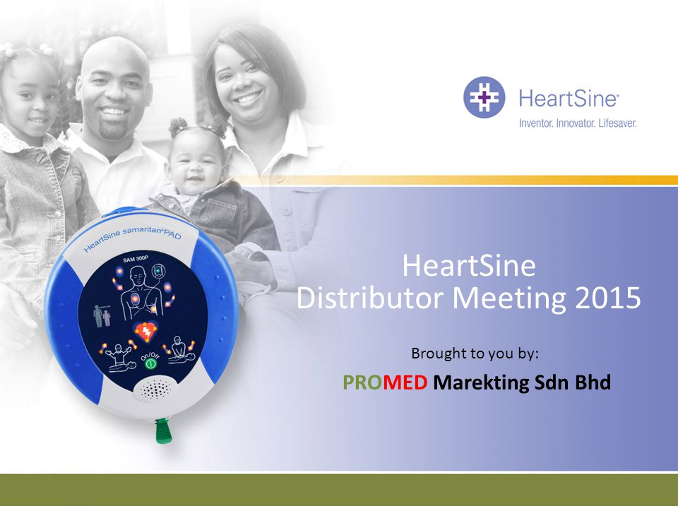HeartSine Distributor Meeting 2015