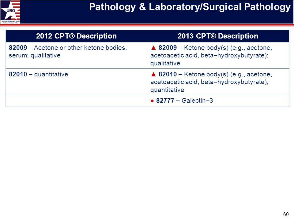 Pathology & Laboratory/Surgical Pathology