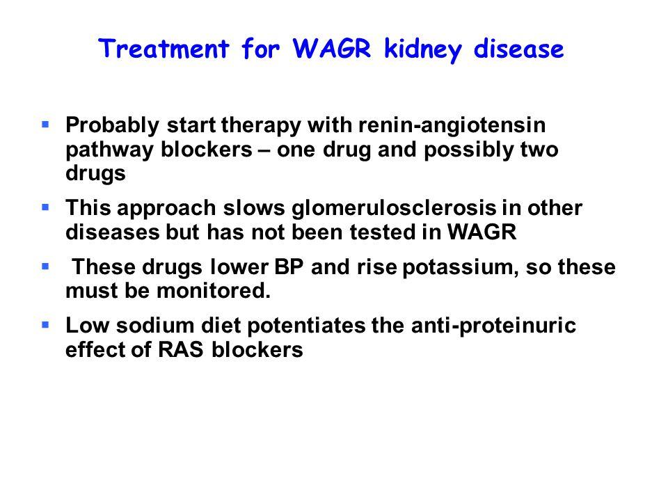 Treatment for WAGR kidney disease