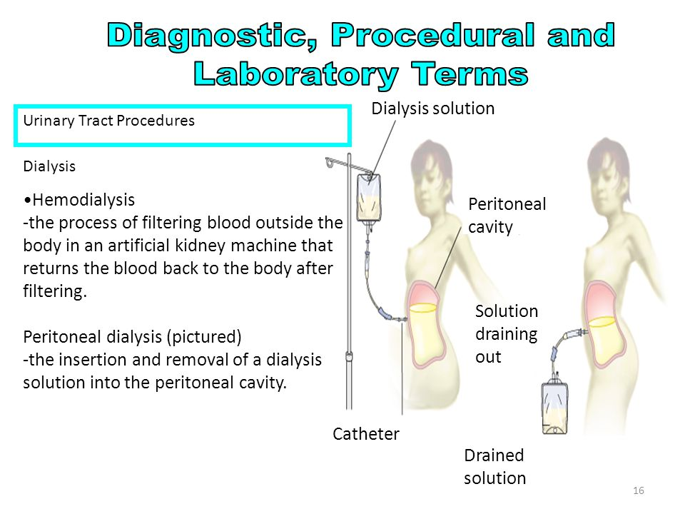 Urinary Tract Procedures