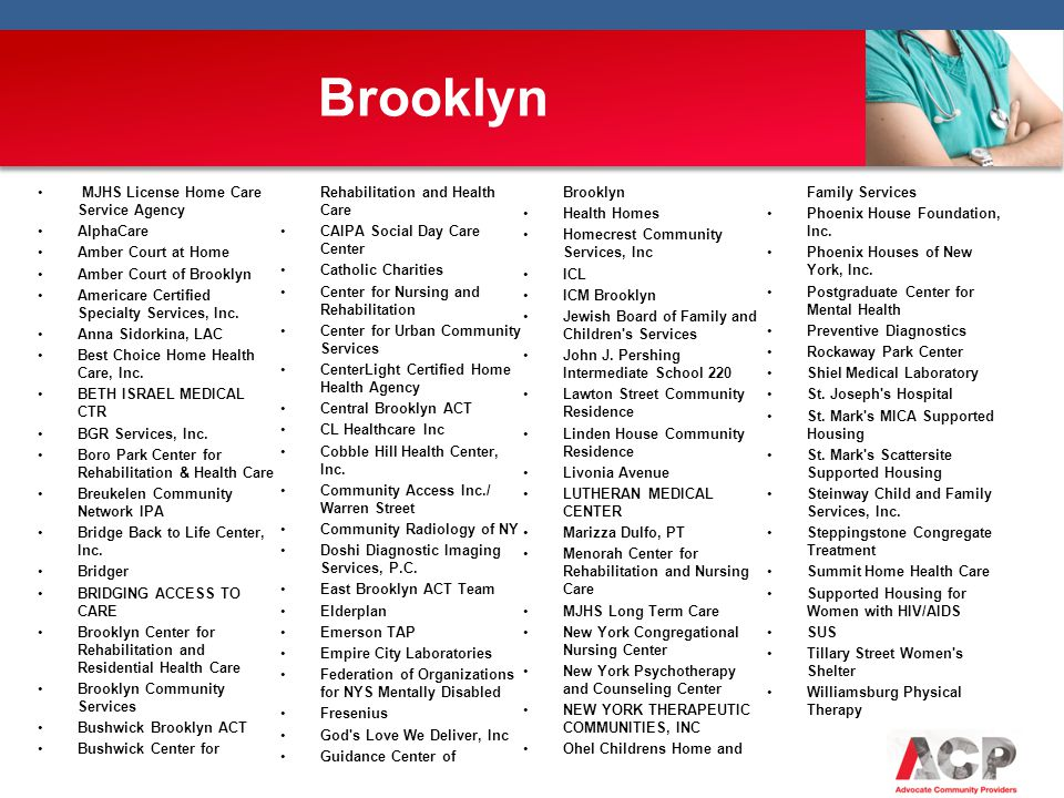 Brooklyn MJHS License Home Care Service Agency