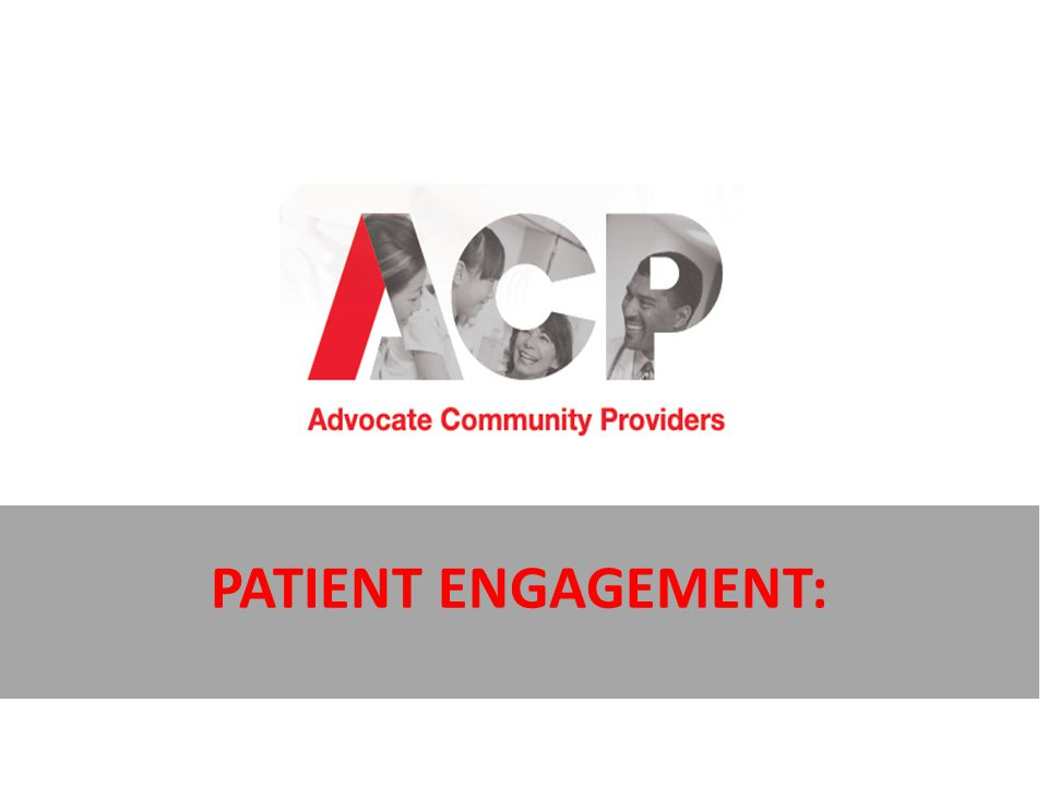 Patient engagement: