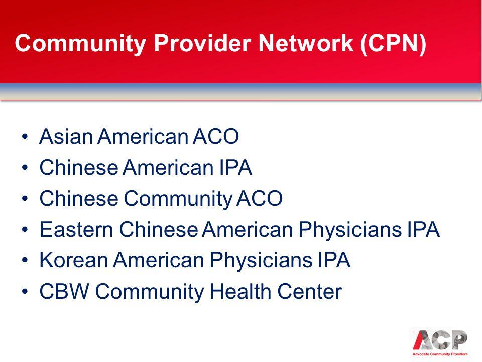 Community Provider Network (CPN)