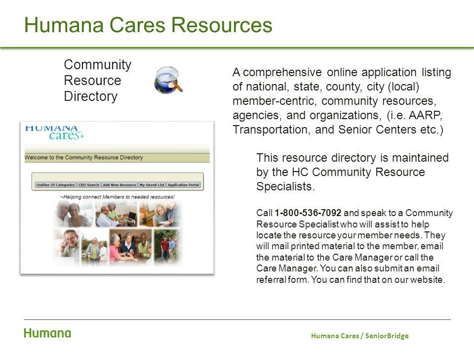 Humana Cares Resources