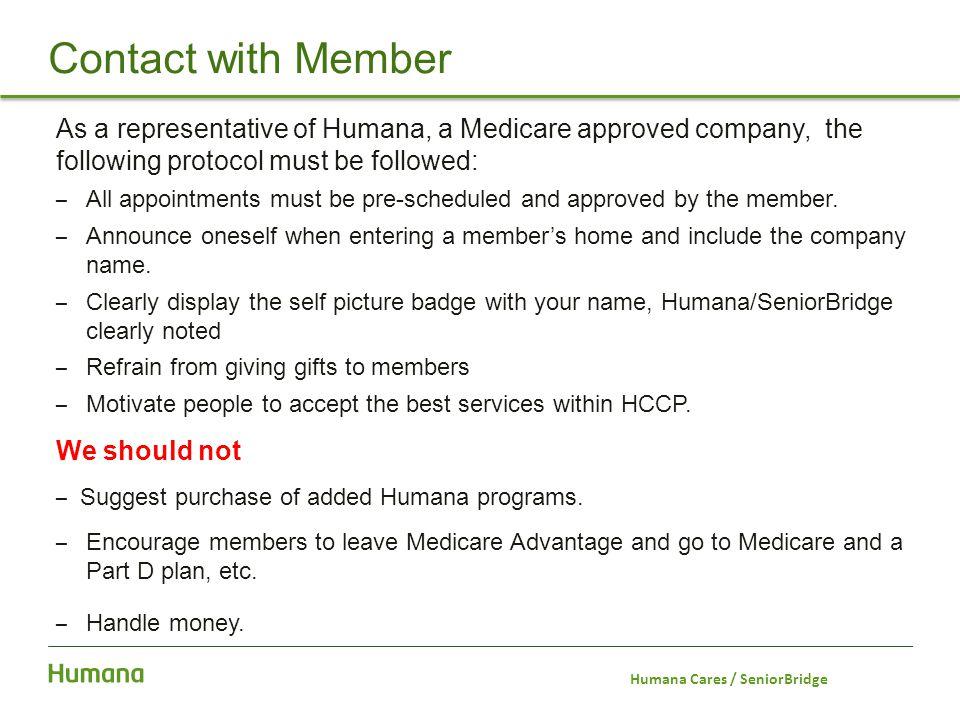 Humana Cares / SeniorBridge
