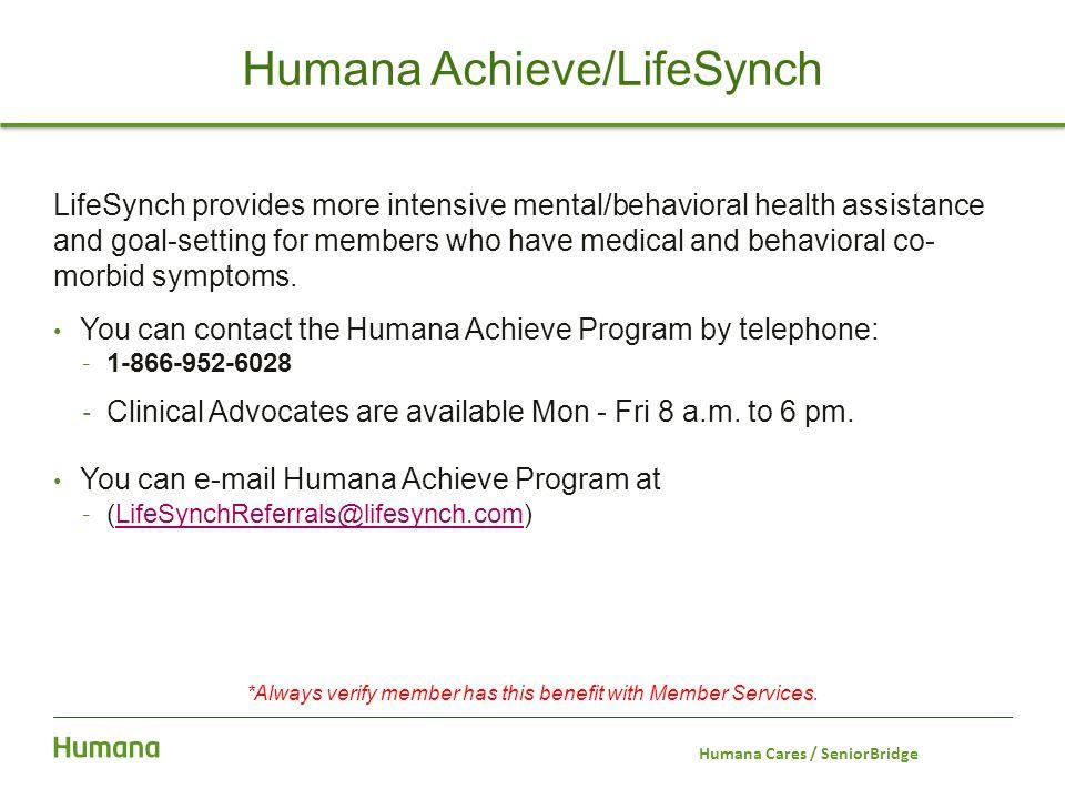 Humana Achieve/LifeSynch