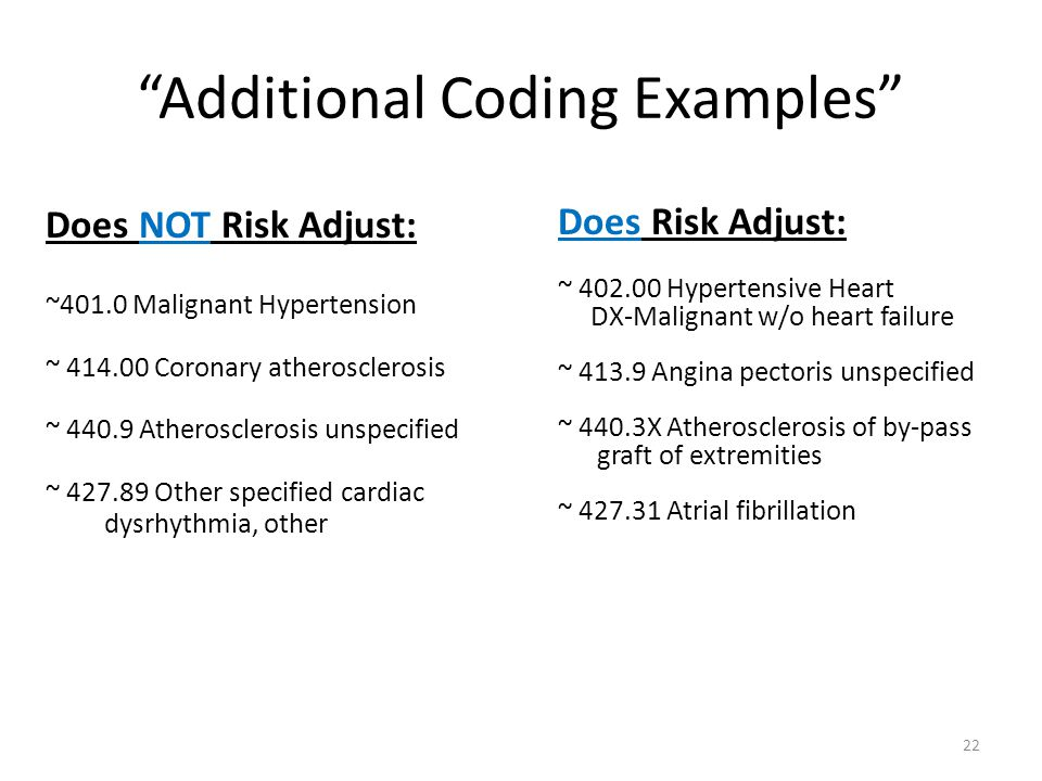 Additional Coding Examples