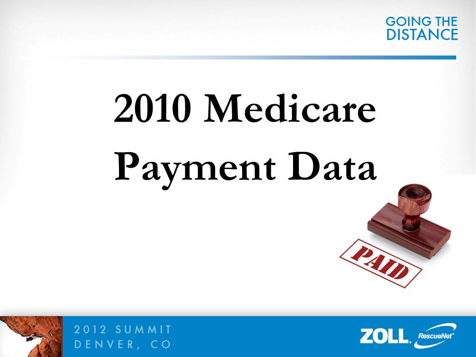 2010 Medicare Payment Data