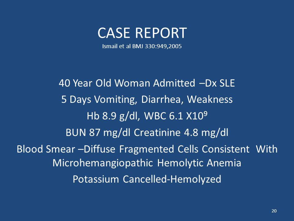 CASE REPORT Ismail et al BMJ 330:949,2005
