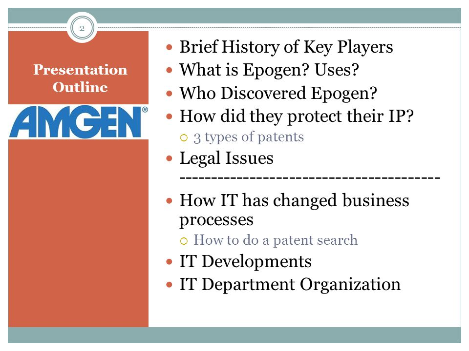 Brief History of Key Players What is Epogen Uses