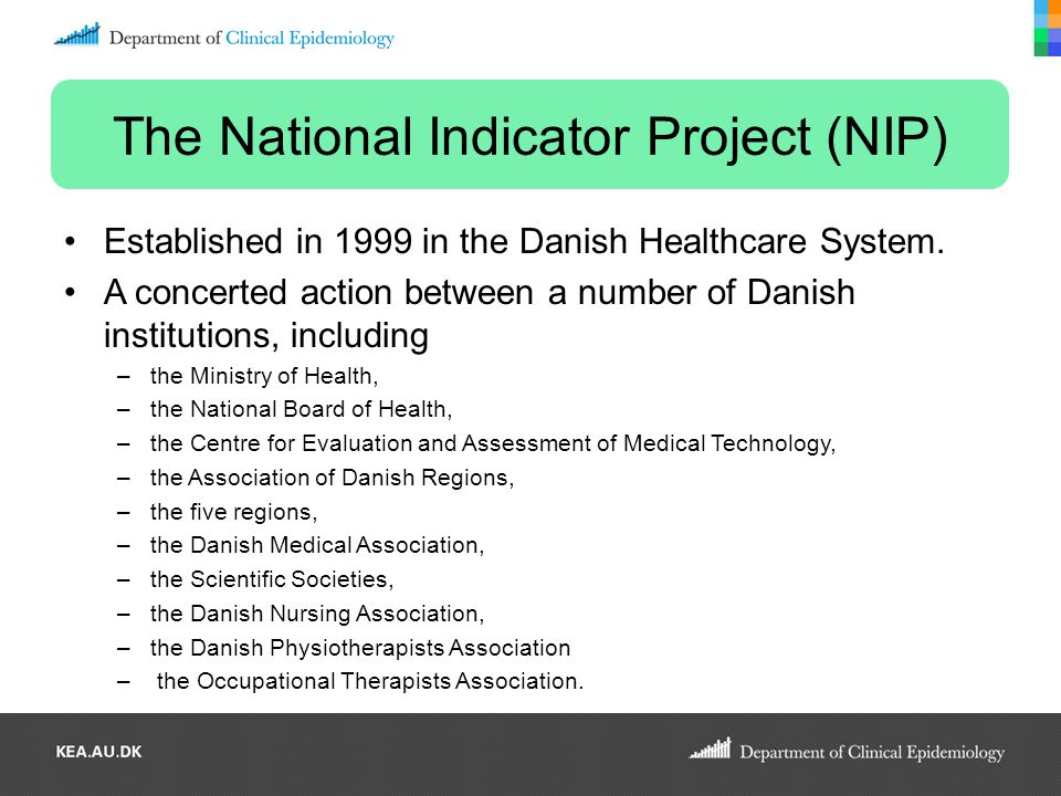 The National Indicator Project (NIP)