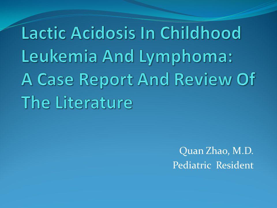 Quan Zhao, M.D. Pediatric Resident