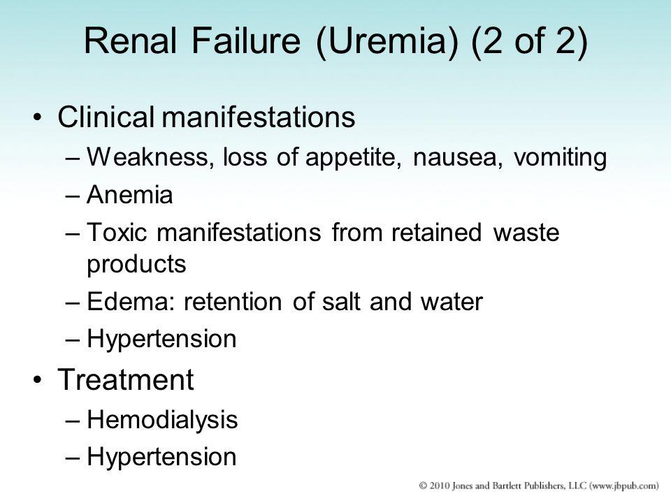 Renal Failure (Uremia) (2 of 2)