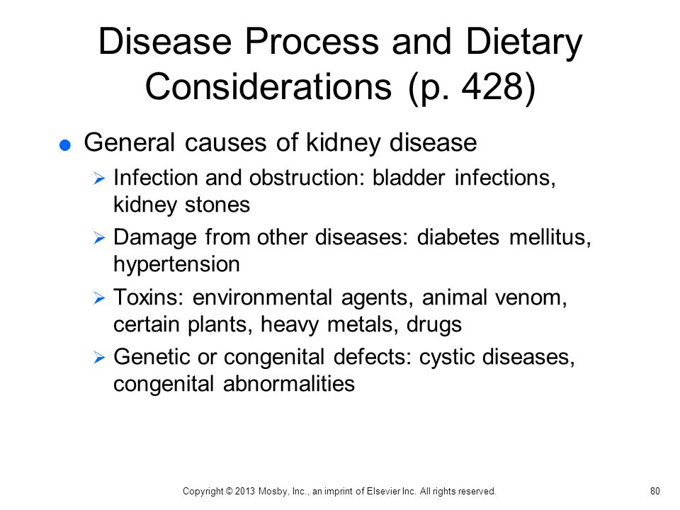 Disease Process and Dietary Considerations (p. 428)
