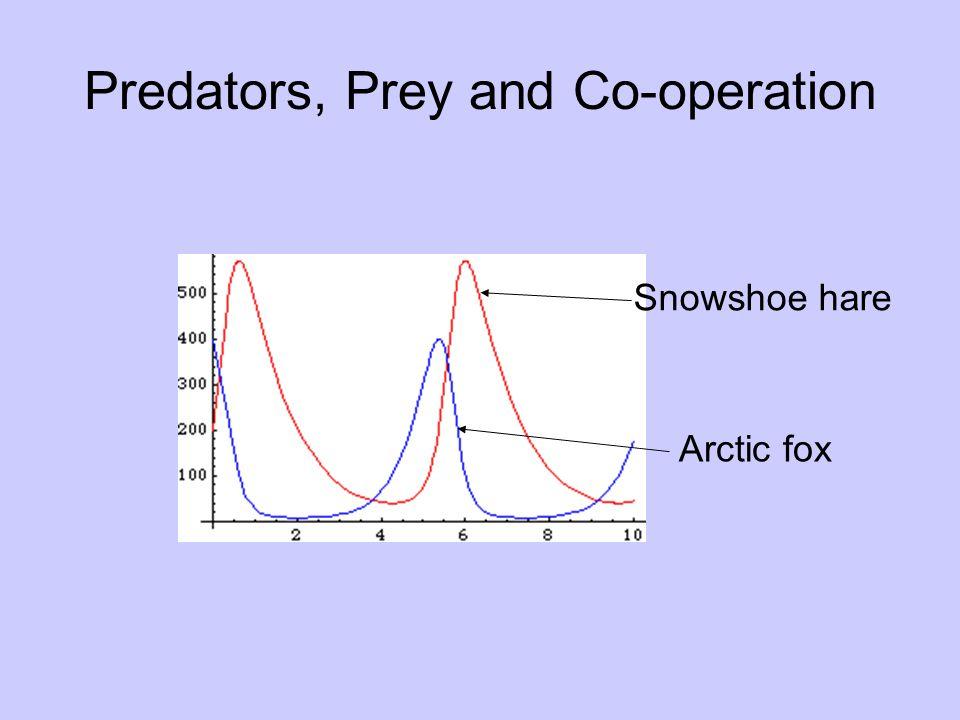 Predators, Prey and Co-operation