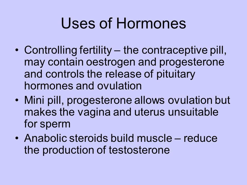 Uses of Hormones