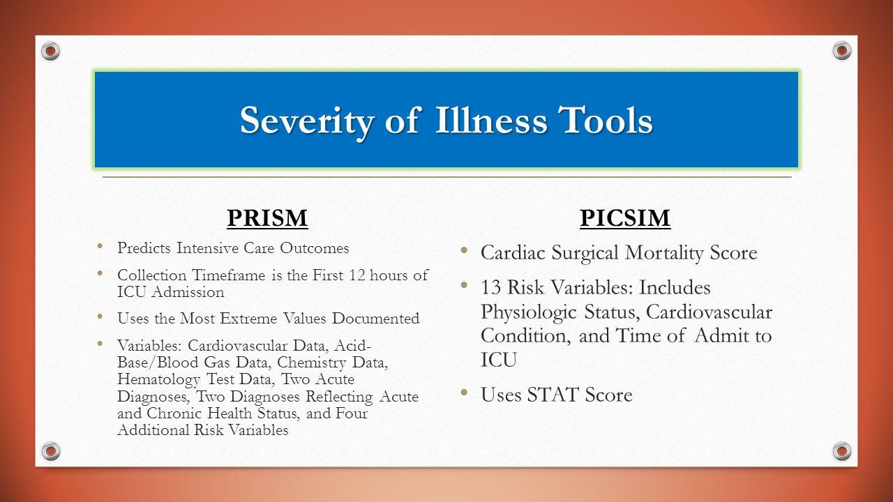 Severity of Illness Tools