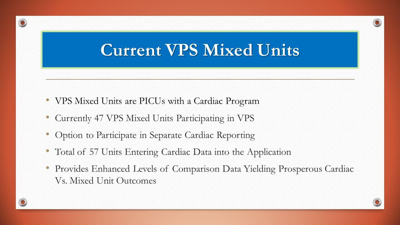 Current VPS Mixed Units