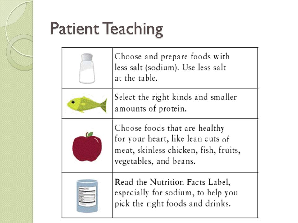Patient Teaching