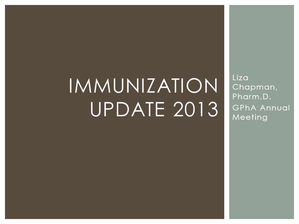 Liza Chapman, Pharm.D. GPhA Annual Meeting