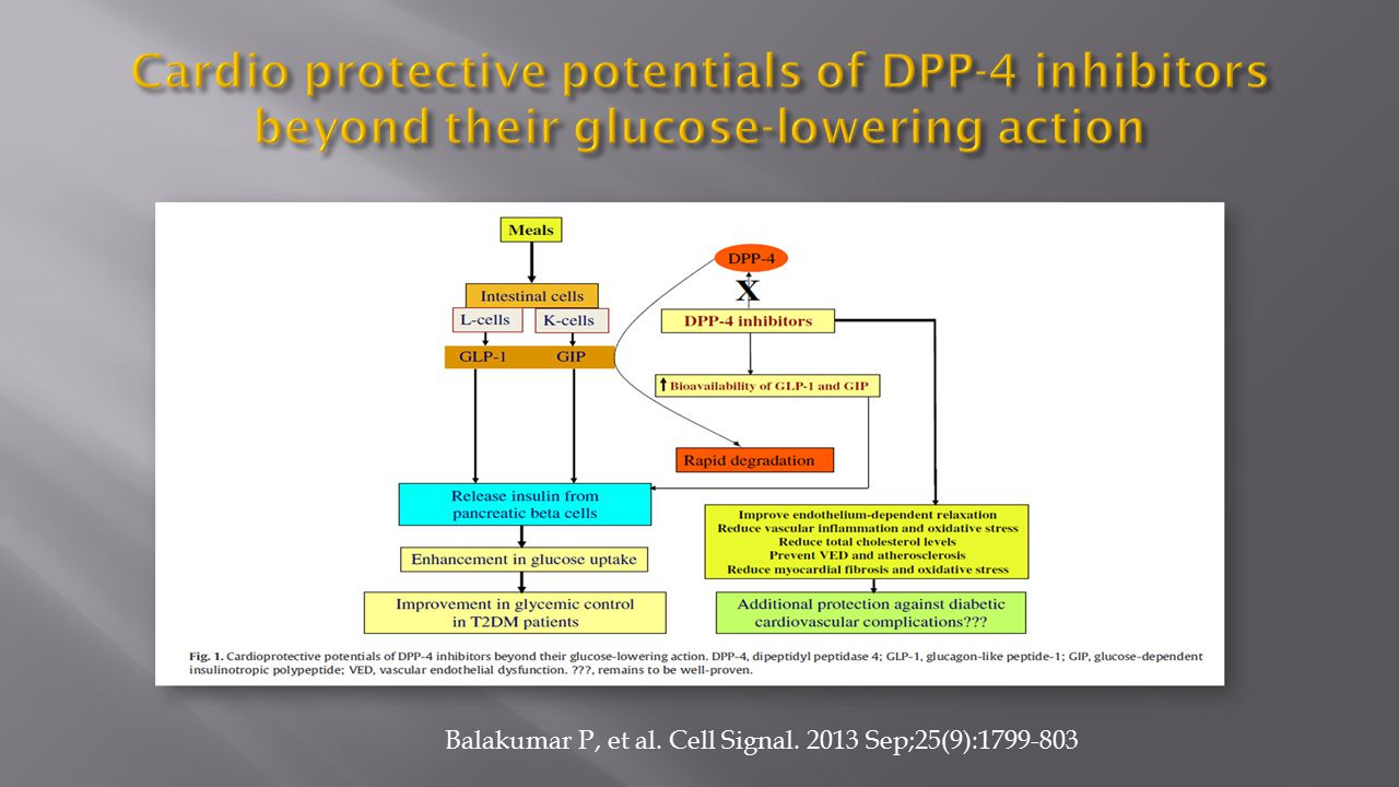 Cardio protective potentials of DPP-4 inhibitors beyond their glucose-lowering action