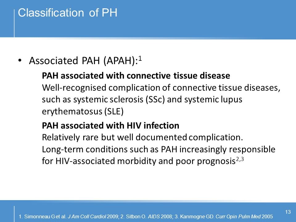 Associated PAH (APAH):1