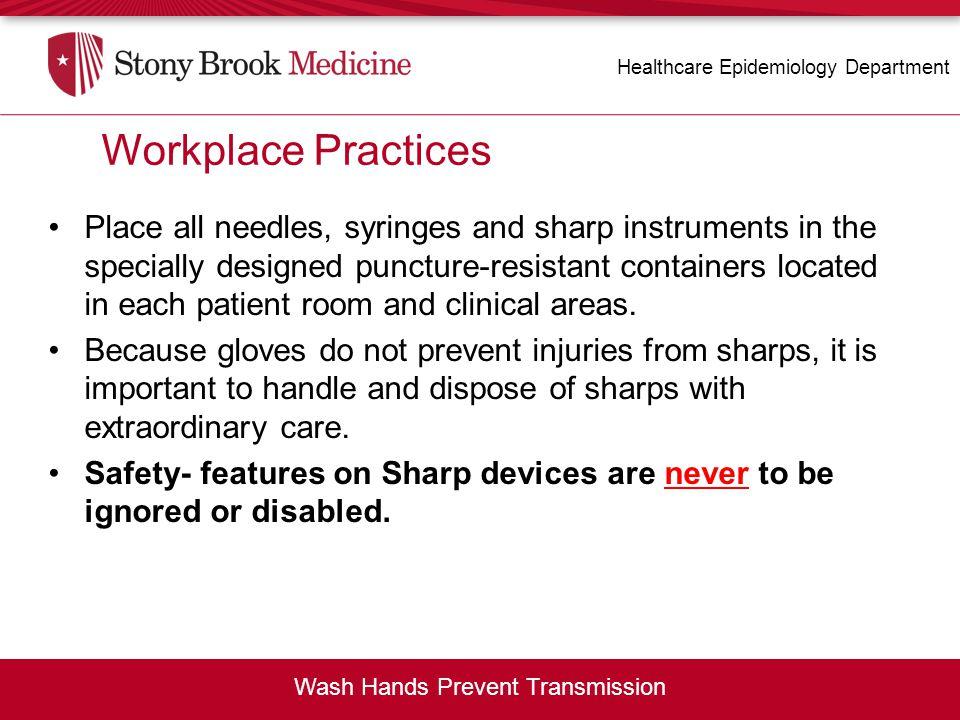 Wash Hands Prevent Transmission