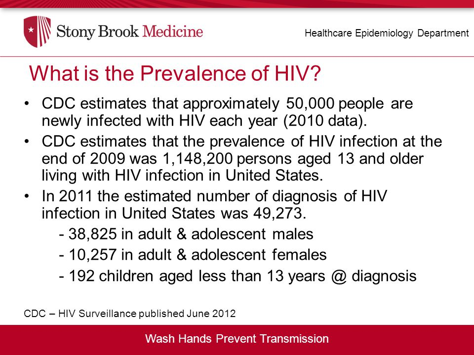 What is the Prevalence of HIV
