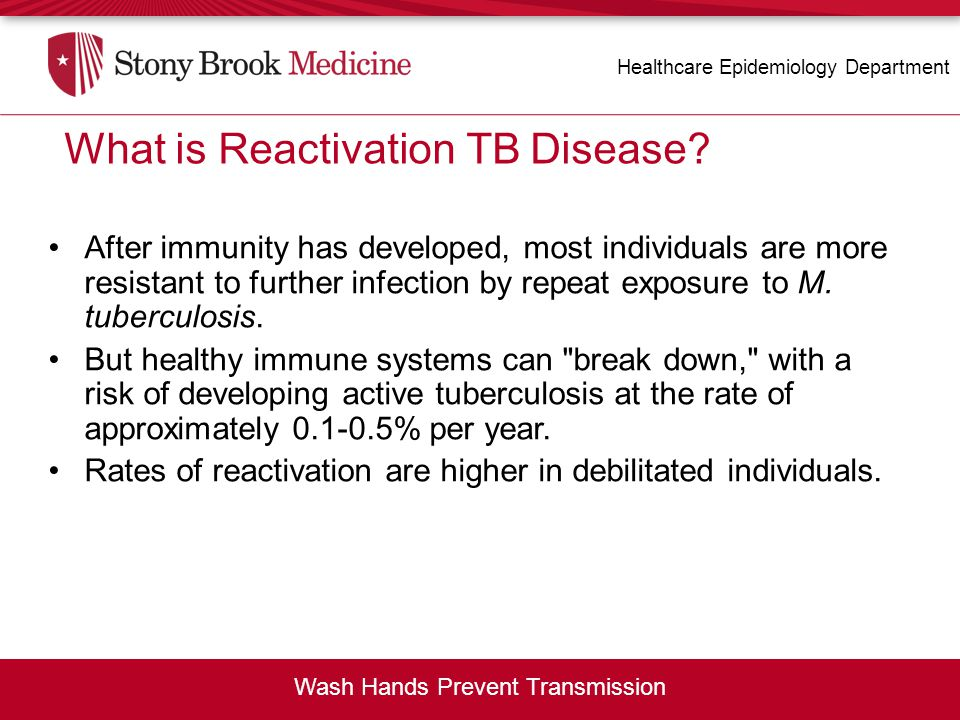 What is Reactivation TB Disease