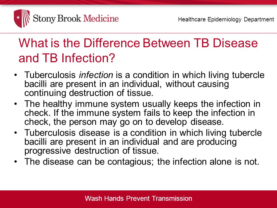 What is the Difference Between TB Disease and TB Infection