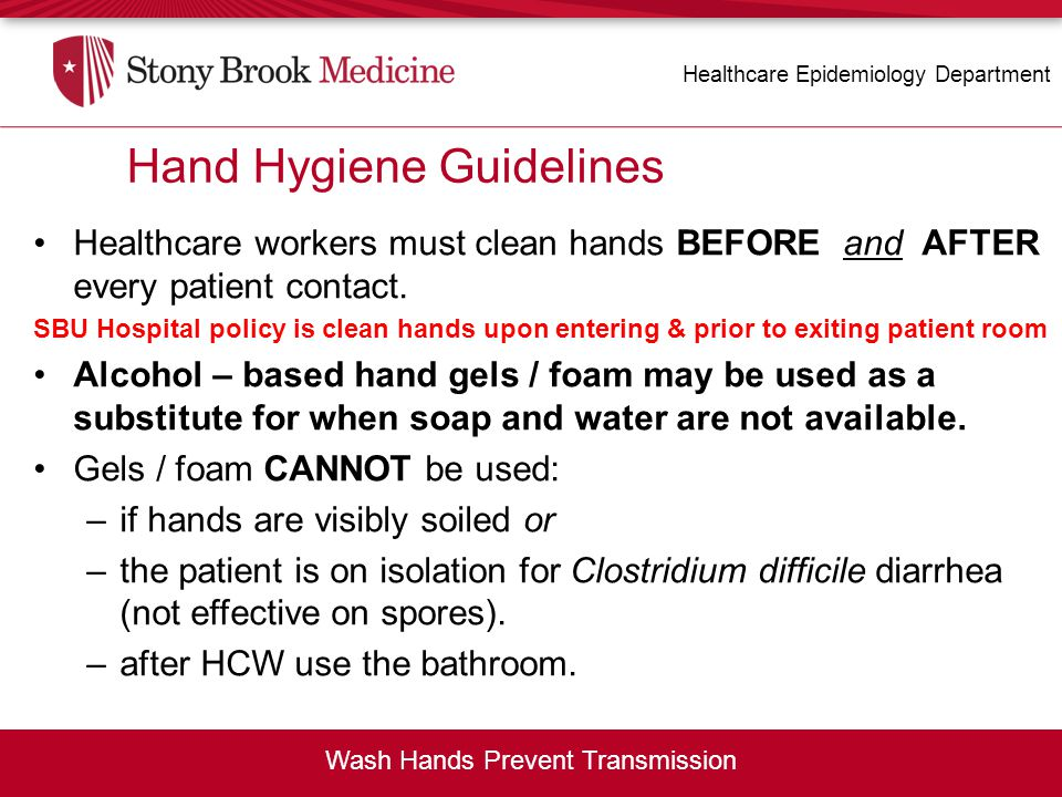 Hand Hygiene Guidelines
