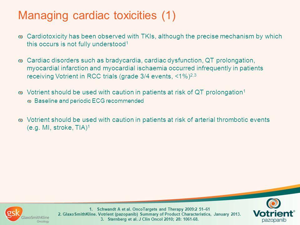 Managing cardiac toxicities (1)
