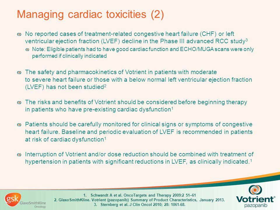 Managing cardiac toxicities (2)