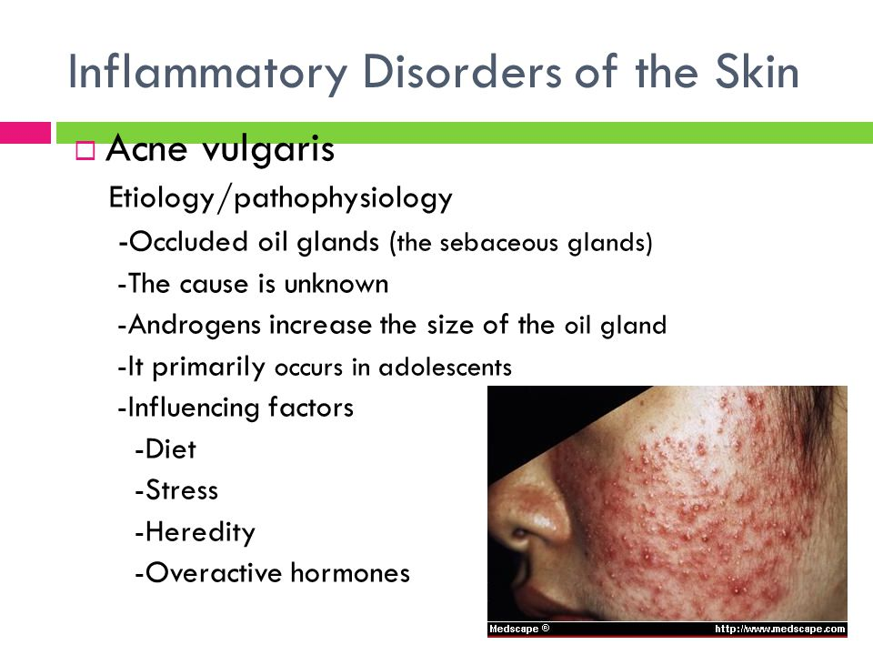 Inflammatory Disorders of the Skin