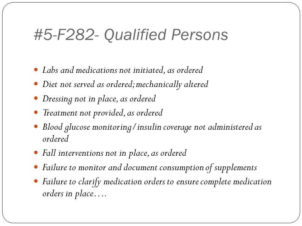 #5-F282- Qualified Persons