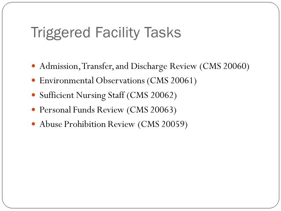 Triggered Facility Tasks
