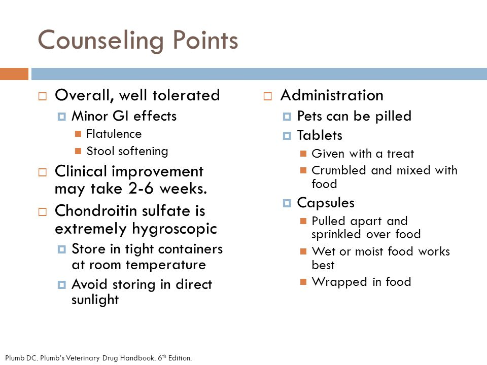 Counseling Points Overall, well tolerated