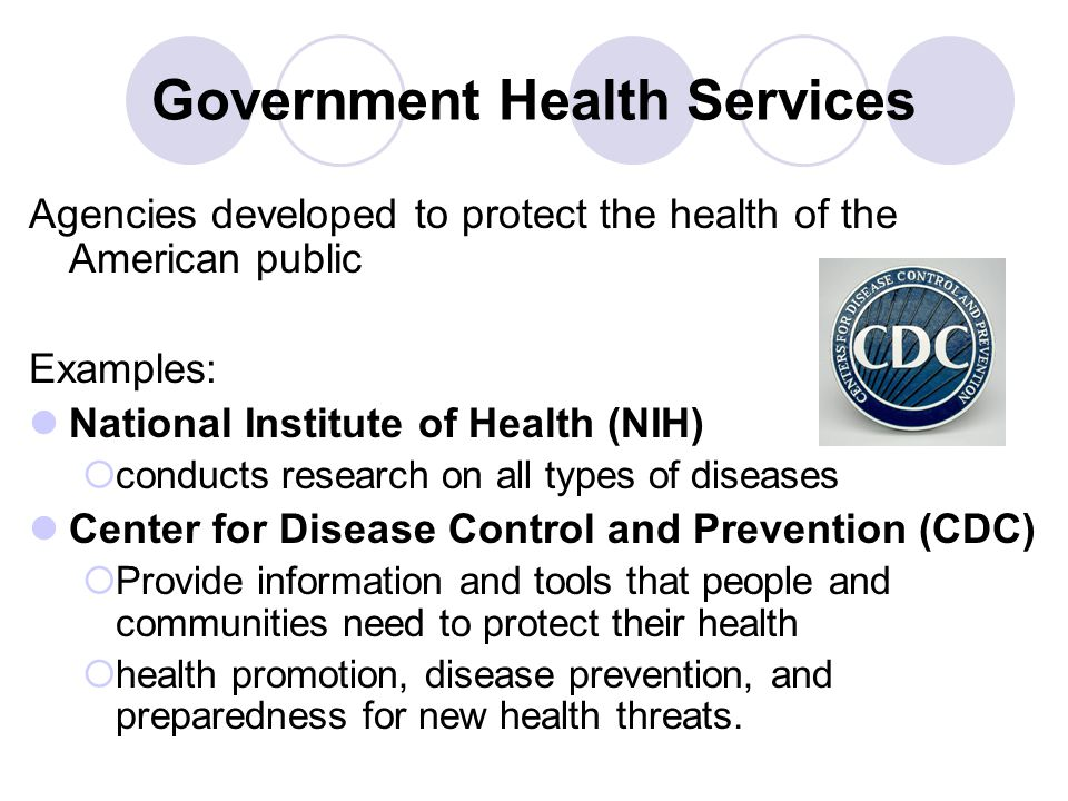 Government Health Services