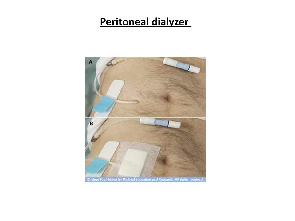 Peritoneal dialyzer