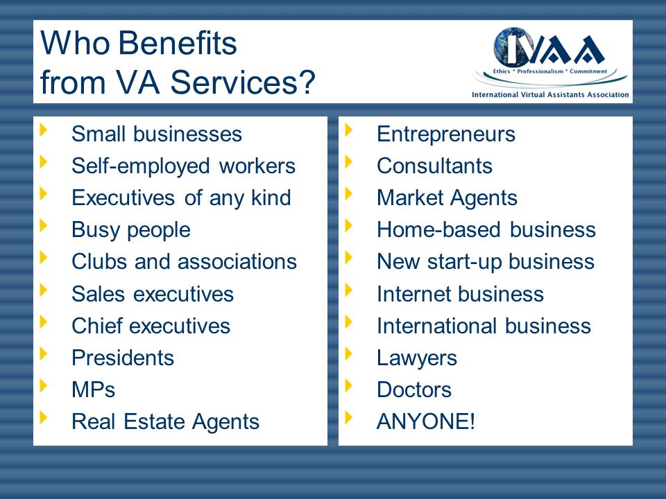 Who Benefits from VA Services