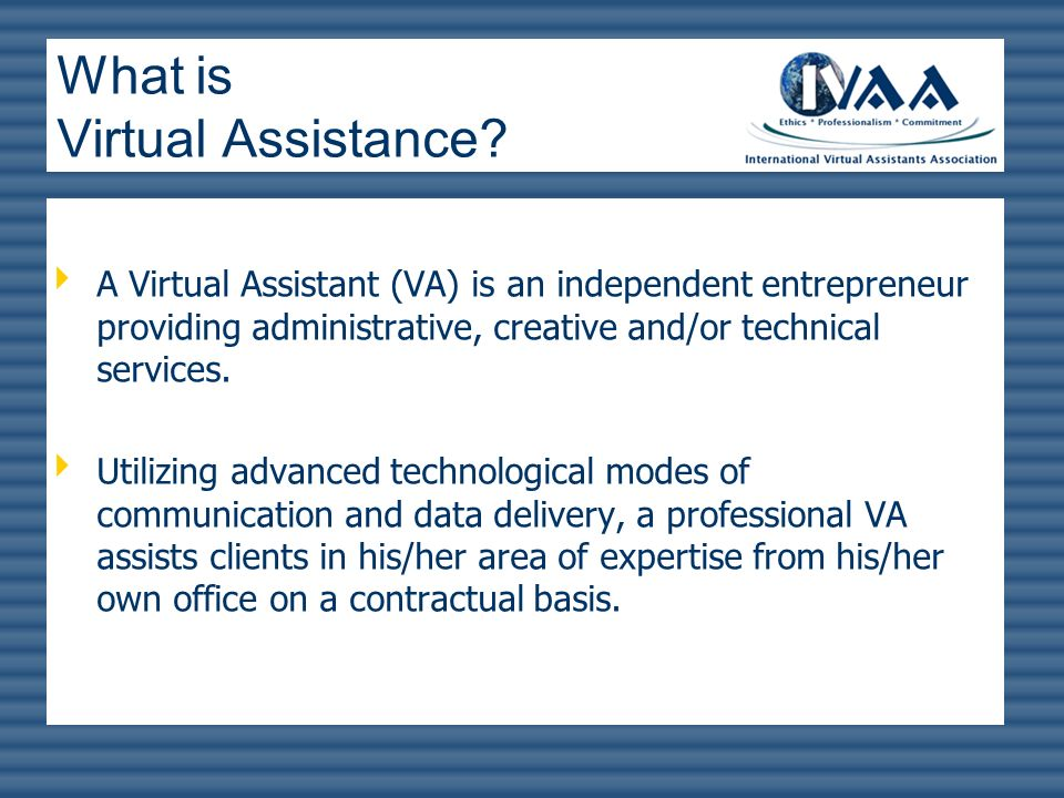 What is Virtual Assistance