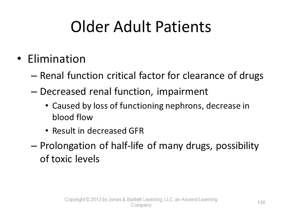 Older Adult Patients Elimination