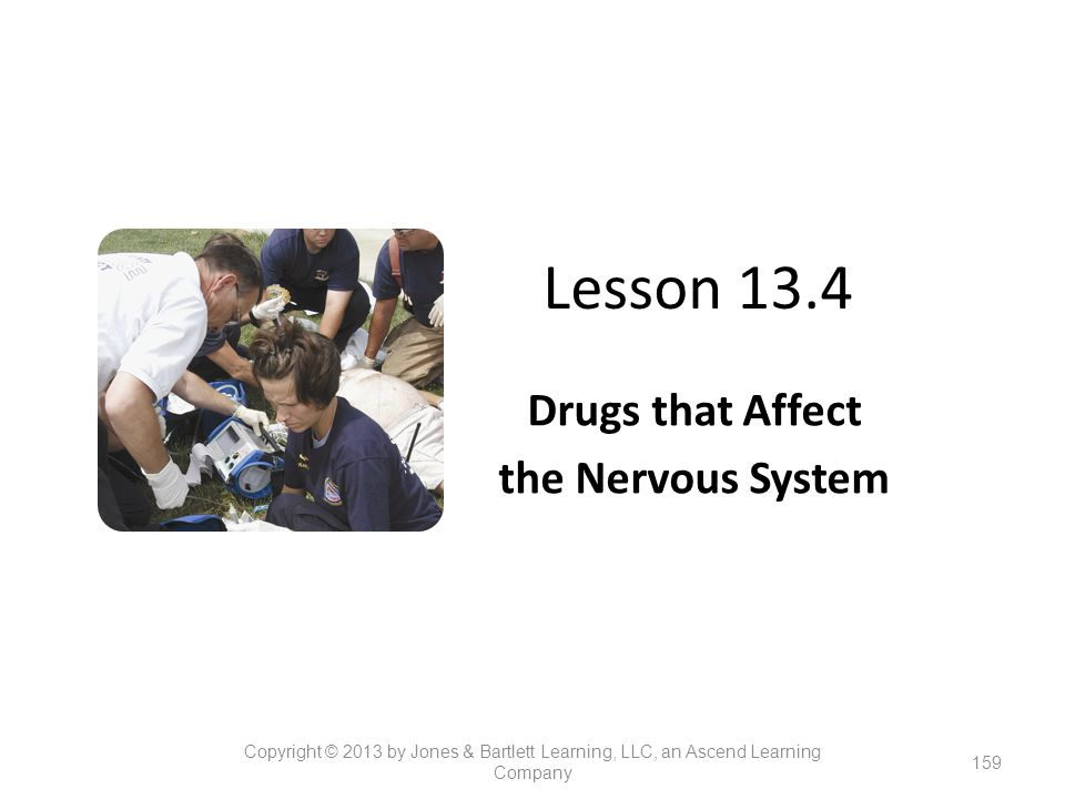 Drugs that Affect the Nervous System