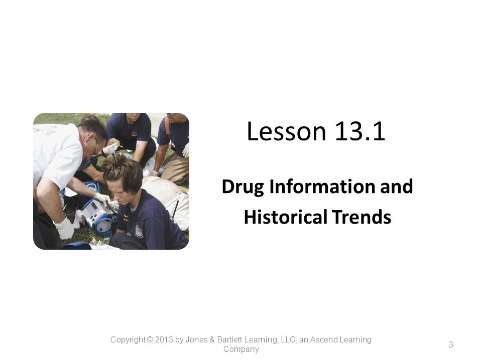Drug Information and Historical Trends