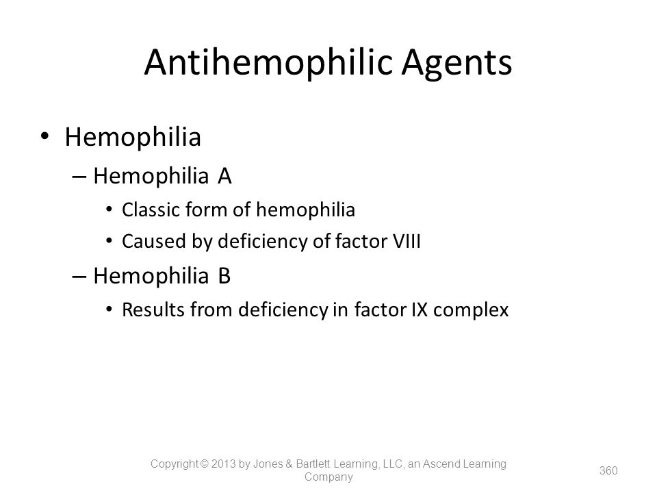 Antihemophilic Agents