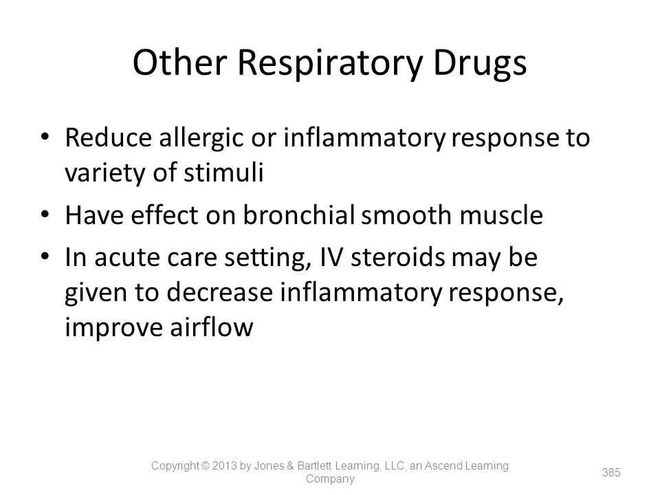 Other Respiratory Drugs