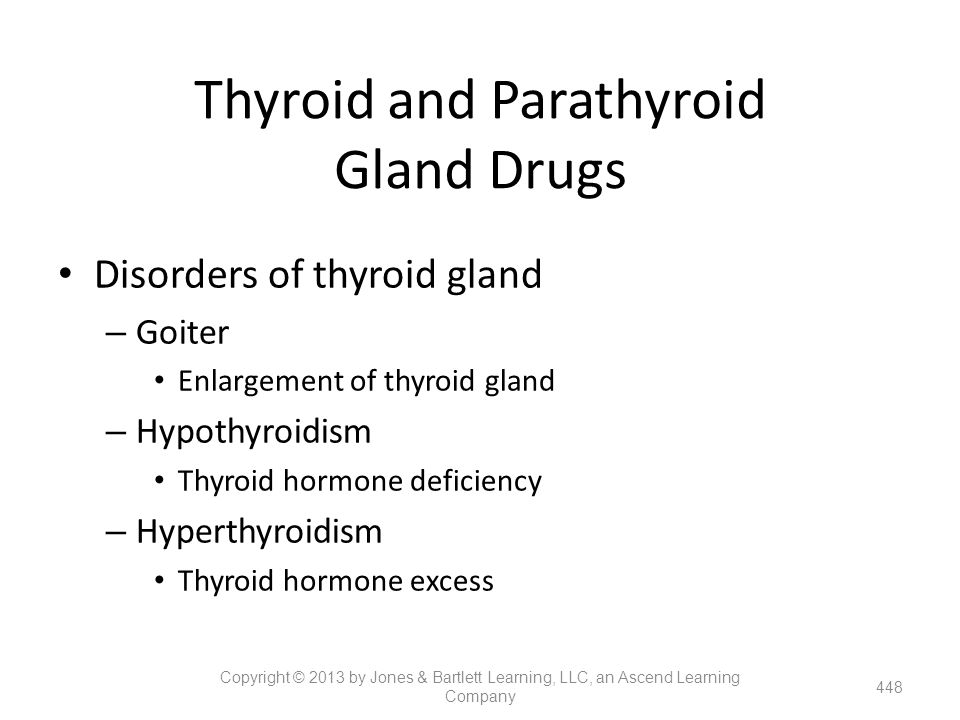 Thyroid and Parathyroid Gland Drugs