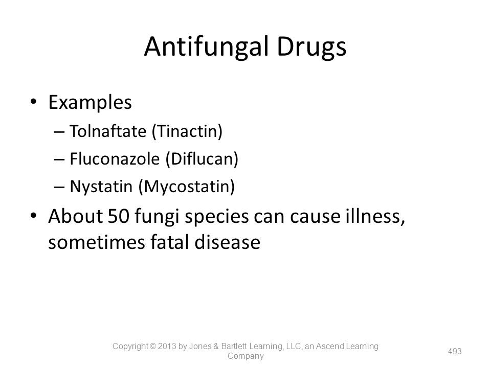 Antifungal Drugs Examples