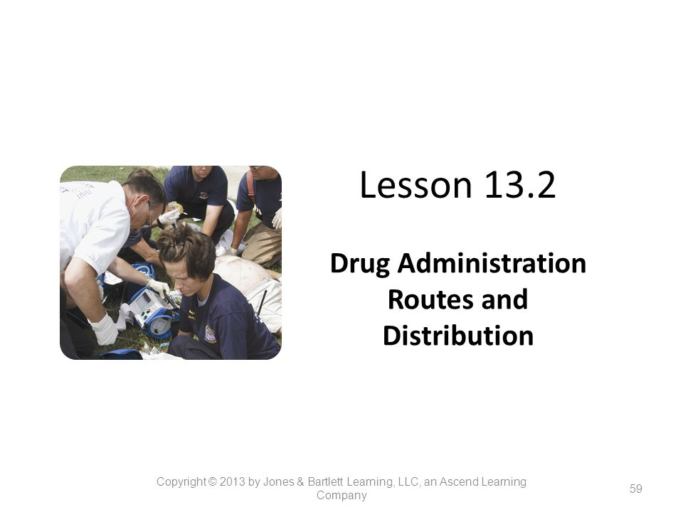 Drug Administration Routes and Distribution